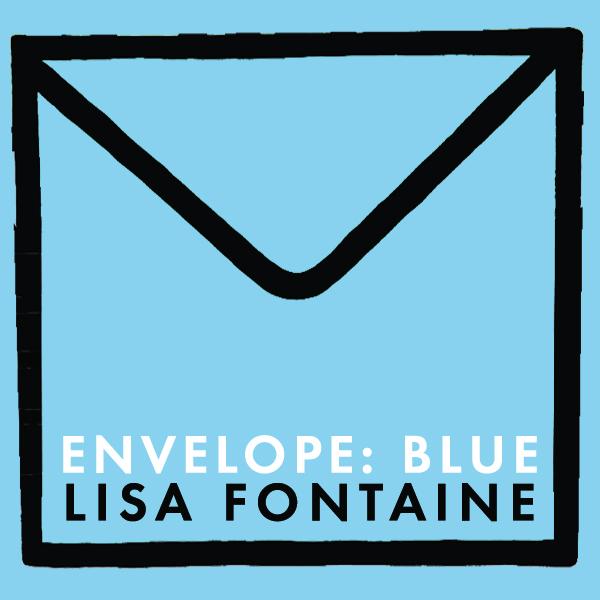 ENVELOPE: BLUE