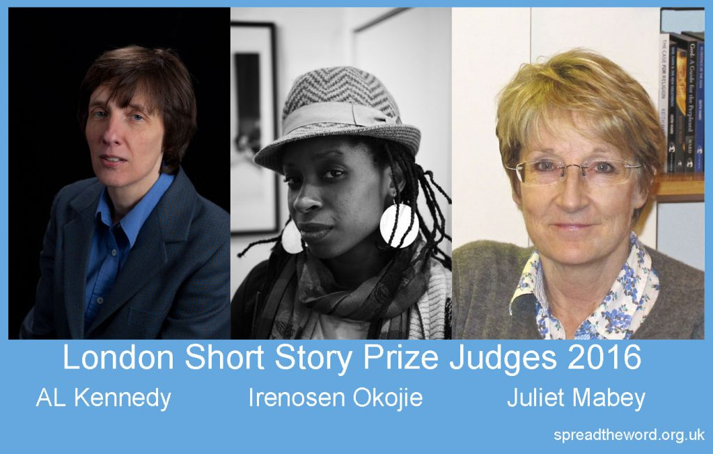 Banner London Short Story Prize Judges 2016